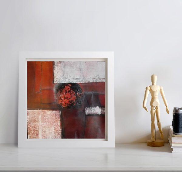 Abstrakt in rot No. IV