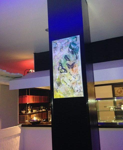 """Ausstellung Restaurant """"The raw Spot"""" 2016"""